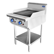 Cookrite AT80G6C 600 Chargrill On Stand. Weekly Rental $25.00