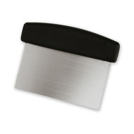 DOUGH SCRAPER-S/S-BLACK 149x75mm