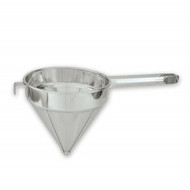 """CONICAL STRAINER-18/8,HD,FINE,250mm(10"""")"""