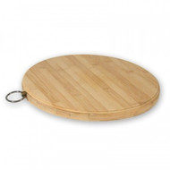 CHOPPING BOARD-BAMBOO, ROUND 250mm