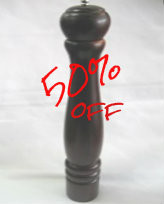 PEPPER MILL -380mm BROWN