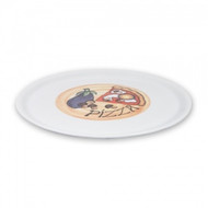 PIZZA PLATE-ASSORTED PATTERNS, 31cm