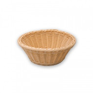 BREAD BASKET-ROUND, POLYPROP 260mm Dia