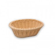 BREAD BASKET-OVAL, POLYPROP 240x170x80mm