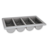 CUTLERY BOX-4 COMPARTMENT-GY
