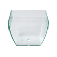 DISPOSABLE SQUARE BULGED DISH -57ml x25