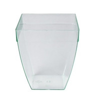DISPOSABLE SQUARE BULGED DISH -170ml x25