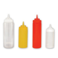 SQUEEZE BOTTLE-1.0lt       WIDE MOUTH