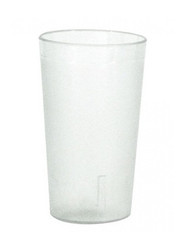 TUMBLER PEBBLED- SAN PLASTIC H.D, 225ml