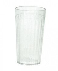 TUMBLER-FLUTED, SAN PLASTIC, 340ml