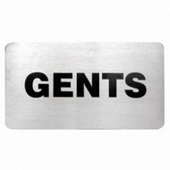 WALL SIGN- B. GENTS 18/10 110x60mm