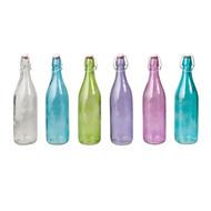 GLASS BOTTLE-ROUND, 1.0lt Dozen