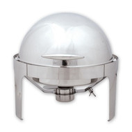 ROLL TOP CHAFER-ROUND, 180 DEGREE ROLL TOP