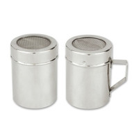MESH SHAKER-WITH HANDLE S/S -285ml