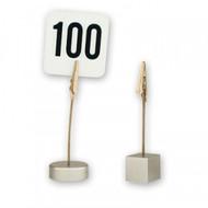 CARD HOLDER-ROUND BASE, 100mm