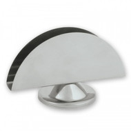 NAPKIN HOLDER-S/S, HALF MOON