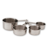 MEARURING SET-S/S,4pc,60-250ml