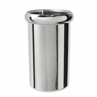 WINE COOLER-18/10  INSULATED ROLLED LIP, MIRROR FINISH