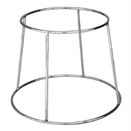 PLATTER STAND-CHROME PLATED