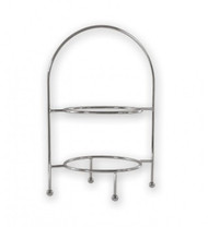 ROUND DISPLAY STAND -2 TIER