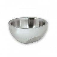 INSULATED BOWL -18/8, ANGLED BASE-250mm