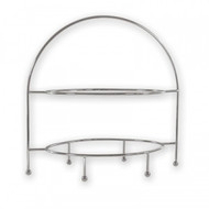 OVAL DISPLAY STAND -2 TIER