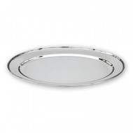 "OVAL PLATTER-S/S,HD, 450mm(18"")"