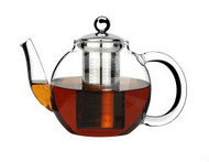 TEAPOT-GLASS, WITH 18/8 INFUSER  350ml