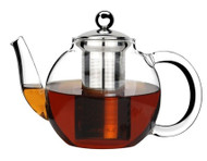 TEAPOT-GLASS, WITH 18/8 INFUSER  600ml