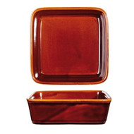 "SQUARE TAPAS DISH-180mm/1100ml ""RUSTICS"""