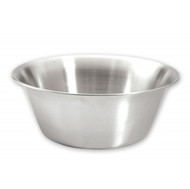 MIXING BOWL-18/8, TAPERED, 200x80mm / 1.25lt