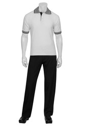 Traditional White Polo Shirt