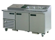 Anvil Aire UBP1800 PIZZA BAR 2.5 DOORS 1800mm 440 Litre. Weekly Rental $62.00