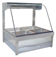 ROBAND - C22RD - HOT FOOD DISPLAY - CURVED GLASS. Weekly Rental $26.00