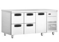 Inomak UBD4000 UNDERBAR DRAWER FRIDGE - 4 DRAWERS. Weekly Rental $36.00
