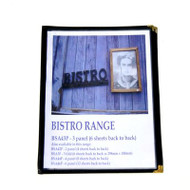 A4 Bistro Cover with 4 Panels