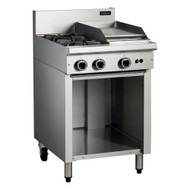 Cobra - C6C - 2 BURNER + 300MM GRIDDLE RIGHT SIDE WITH OPEN CABINET. Weekly Rental $27.00