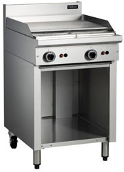 Cobra C6B GAS GRIDDLE OPEN CABINET BASE -600mm. Weekly Rental $27.00