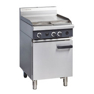 Cobra CR6B GAS RANGE STATIC OVEN & 600mm GRIDDLE. Weekly Rental $39.00