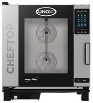 UNOX XEVC-0711-GPRM. GAS  COMBI OVEN - 7 X GN 1/1 TRAYS. Weekly Rental $148.00