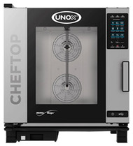 Unox XEVC-0711-EIR COMBI OVEN -7 x 1/1 TRAYS. 9.9 kw. 3 Phase. Weekly Rental $89.00