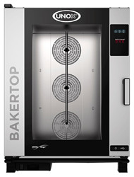 UNOX -  XEBC-10EU-E1RM - BAKERTOP COMBI OVEN -10 tray - 3 Phase. Weekly Rental $146.00