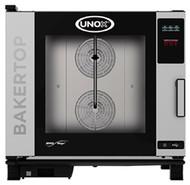UNOX BAKERTOP XEBC-06EU-E1RM  COMBI OVEN - 6 tray. Weekly Rental $103.00