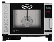 UNOX- XEBC-04EU-E1R BAKERTOP COMBI OVEN - 4 tray. Weekly Rental $84.00