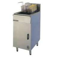 Goldstein FRG-1L -  FLAT BOTTOM SINGLE PAN GAS FRYER 32 litre. Weekly Rental $44.00