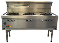 Goldstein - CWA3 -  AIR COOLED TRIPLE GAS WOK. Weekly Rental $79.00