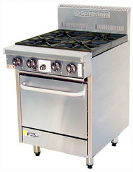 Goldstein PF-4-20 - Gas 4 Burner -Static Oven. Weekly Rental $61.00