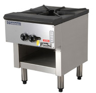 Goldstein - SP1855FFD -  Gas Stock Pot Boiling Table. Single Dual Ringed Burner. Weekly Rental $28.00