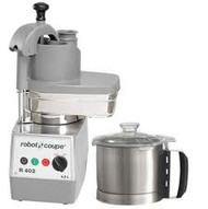 Robot Coupe R 402 PROCESSOR, CUTTER & VEGETABLE SLICER. Weekly Rental $41.00