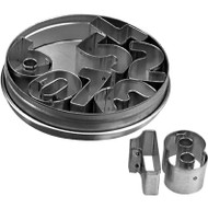 CUTTER SET -NUMBERS LARGE 9pc